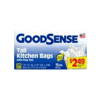 Good Sense Kitchen Bags - Tall, 25 Each