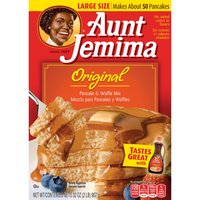 Aunt Jemima Aunt Jemima Pancake & Waffle Mix - Original, 32 Ounce