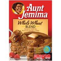 Aunt Jemima Aunt Jemima Whole Wheat Pancake & Waffle Mix, 35 Ounce