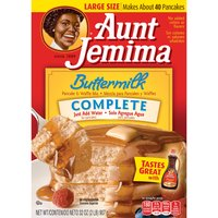 Aunt Jemima Pancake And Waffle Mix - Complete Buttermilk, 32 Ounce