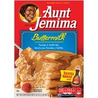 Aunt Jemima Aunt Jemima Pancake & Waffle Mix - Buttermilk, 32 Ounce
