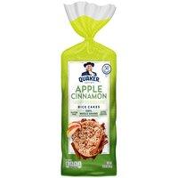 Quaker Rice Cake Apple Cinnamon, 6.53 Ounce