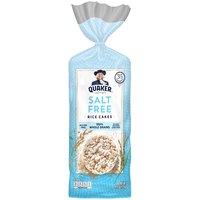 Quaker Quaker Rice Cakes Salt Free, 127 Gram