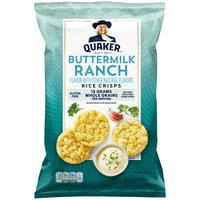 Quaker Quaker Popped Rice Snack Ranch, 3.03 Ounce
