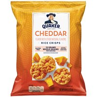 Quaker Popped Rice Snack Cheddar Cheese, 6.06 Ounce