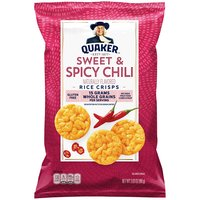 Quaker Popped Rice Snack Sweet Chili, 3.03 Ounce
