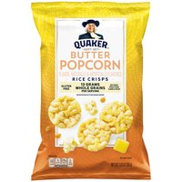 Quaker Popped Rice Snack Butter Popcorn, 3.03 Ounce