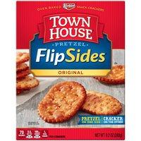 Keebler Crackers - Town House FlipSides Pretzel Original, 9.2 Ounce