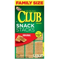 Keebler Club Original Fresh Stacks Crackers - Family Size, 18.8 Ounce