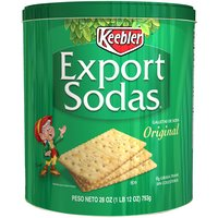 Keebler Crackers - Export Soda, 28 Ounce