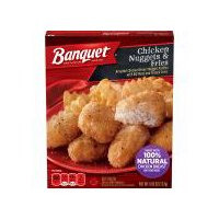 Banquet Basic Chicken Nuggets And Fries, 4.85 Ounce