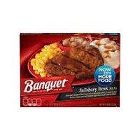 Banquet Classic Salisbury Steak Meal, 11.88 Ounce
