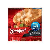 Banquet Chicken Pot Pie with Broccoli, 7 Ounce