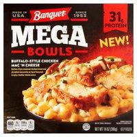 Banquet Mega Bowls Buffalo Chicken Mac N Cheese, 14 Ounce