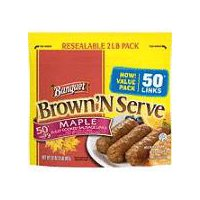 Banquet Brown N Serve Maple Sausage Links, 32 Ounce