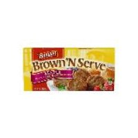 Banquet Brown N Serve Maple Sausage Patties, 6.4 Ounce