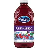 100% Vitamin C. Grape Cranberry Juice Drink from Concentrate.