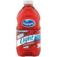 OCEAN SPRAY LIGHT Cranberry Drink - Light, 64 Ounce