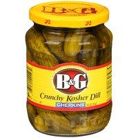 B&G B&G Kosher Gherkins, 24 Fluid ounce