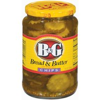 B&G B&G Bread & Butter Chips Pickles with Whole Spices, 24 Fluid ounce