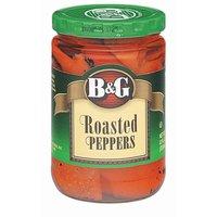B&G Roasted Peppers, 12 Fluid ounce