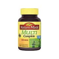 Nature Made Supplement - Multi Complete With Iron Tablets, 130 Each