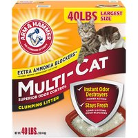Arm & Hammer Multi Cat Litter, 40 Pound