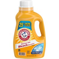 with Color Safe Bleach Alternative.  26 Loads. 2x concentrated. Clean Burst