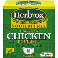 8 count box. Sodium Free. Real Herbs, Real Flavor.