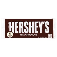 There's happy, and then there's Hershey's Happy. Made of delicious, gluten-free chocolate, this Hershey's Milk Chocolate Bar makes life delicious.