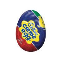 Take a walk down memory lane with original Cadbury Creme Egg Candy. Biting into creamy milk chocolate, you'll soon find yourself immersed in the experience. Perfect for Easter baskets and egg hunts.