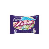 Cadbury milk chocolate in a crisp sugar shell with pastel colors for the season. These mini eggs are perfect for Easter baskets and snacking and sharing during the Easter season.