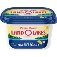 Land O'Lakes Land O'Lakes Butter Spread with Olive Oil & Sea Salt, 13 Ounce
