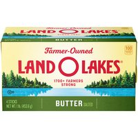 Land O'Lakes Sweet Cream Butter - Salted, 1 Pound