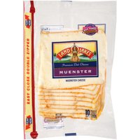 Land O'Lakes Cheese - Muenster Shingle Pack Slices, 8 Ounce