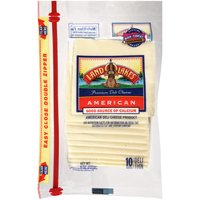 Land O'Lakes Cheese - American White Single Pack Slices, 8 Ounce
