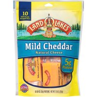 Land O'Lakes Cheese - Snack'n Cheese To-Go Mild Cheddar, 10 Each