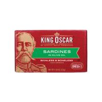 King Oscar Skinless and Boneless Sardines - in Olive Oil, 4.38 Ounce