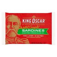 King Oscar Sardines - Finest Brisling in Olive Oil, 3.75 Ounce