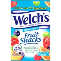 Made with real fruit. Natural & artificial flavors. No preservatives.