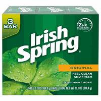 Irish Spring Original bar soap delivers the original gentle and caring formula you love, with a fresh and clean scent to leave you refreshed.