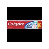 Colgate Triple Action Toothpaste, with a great Original Mint flavor, provides three benefits with regular brushing for a deep clean. Cavity Protection, helps strengthen your teeth.
