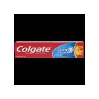 Colgate Cavity Protection Toothpaste with Fluoride provides trusted cavity protection for the entire family.