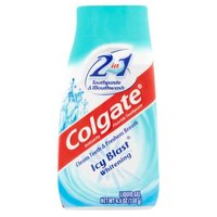 Colgate 2in1 Whitening Toothpaste & Mouthwash, Icy Blast, 4.6 Ounce