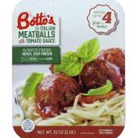 Botto's Italian Meatballs with Tomato Sauce, 32 Ounce