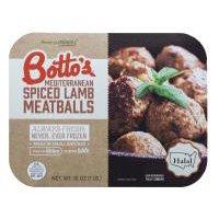Botto's Mediterranean Spiced Lamb Meatballs, 16 Ounce