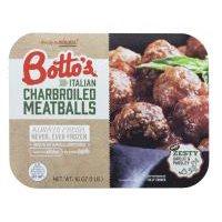 Botto's Italian Charbroiled Meatballs, 16 Ounce