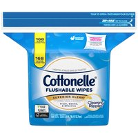 Cottonelle Cottonelle Fresh Care Flushable Clensing Cloths - 4 Refills, 168 Each