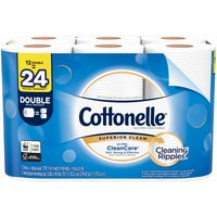 Cottonelle Cottonelle Ultra CleanCare Toilet Paper, Double Rolls, 12 Each