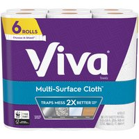 Viva Signature Cloth Paper Towels are 2X more durable to power through your toughest cleaning tasks to help you achieve an exceptional clean. A strong paper towel with cloth-like durability.